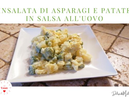 Insalata di Asparagi e Patate in salsa all'Uovo