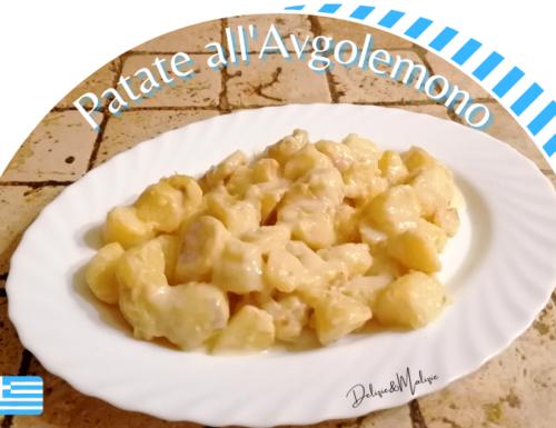 Patate all'Avgolemono