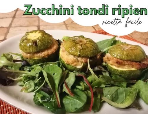 Zucchini tondi ripieni – ricetta facile