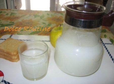 Latte di riso come farlo in casa