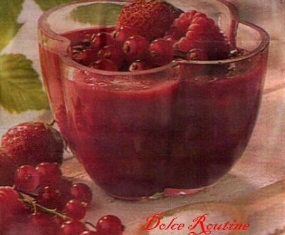Crema ai Frutti Rossi