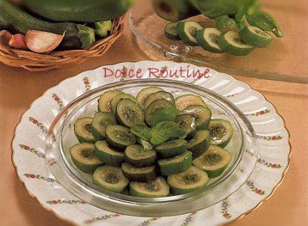 Rondelle di Zucchine Ripiene con Trito Aromatico