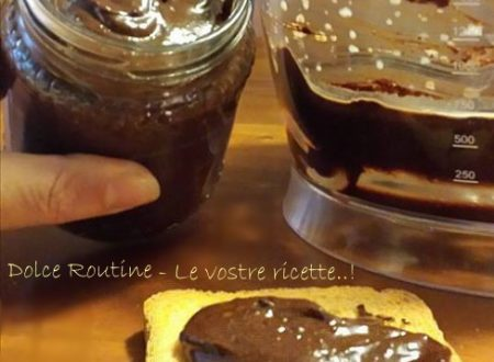 Crema Nutella Vegan Home Made