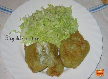 Frittelle di Baccalà o (Friscioeu de Baccalà)