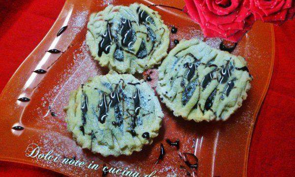 Crostatine morbide alla nutella