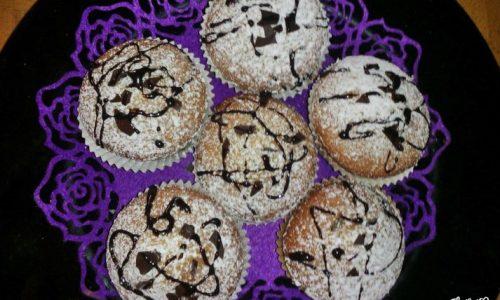 Muffin dal cuore cremoso al cioccolato