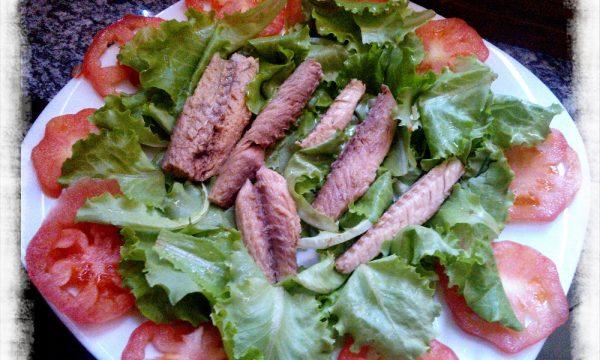 Fresca insalata di Sgombro