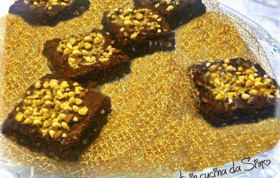 Brownies con le mandorle