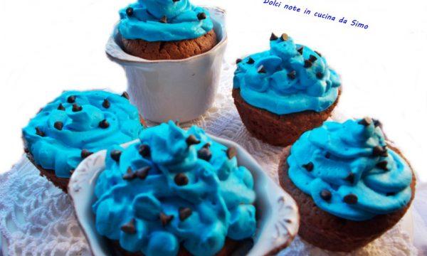 Soffici muffin al cioccolato e panna