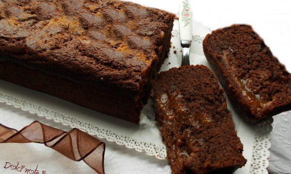 Plum-Cake al cioccolato e marmellata