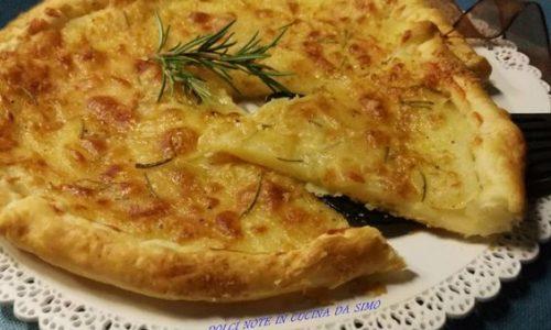 Torta rustica di patate al rosmarino