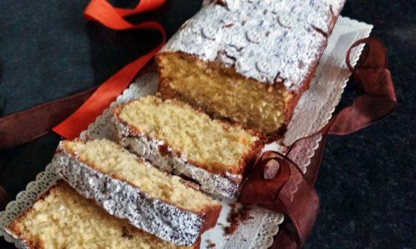 Plum-cake al cioccolato bianco e cocco