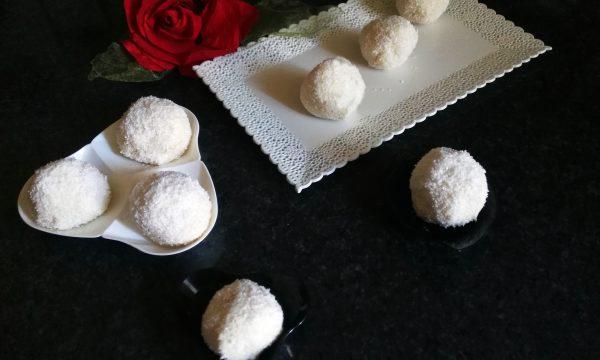Bon Bon al cioccolato bianco e cocco
