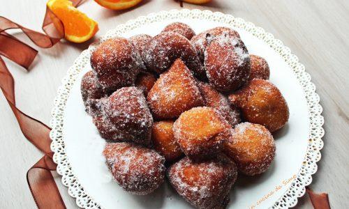 Frittelle alla ricotta e arancia