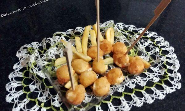 Mozzarelline impanate