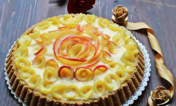 Crostata di Rose alle mele