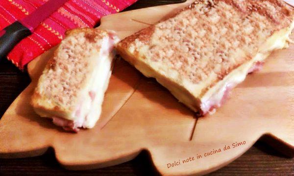 Plum-cake filante prosciutto e formaggio