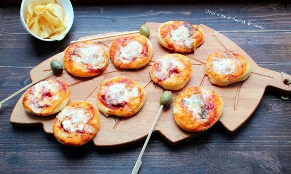 Pizzette soffici di Pan Brioche