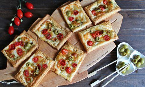 Sfogliette alla pizzaiola