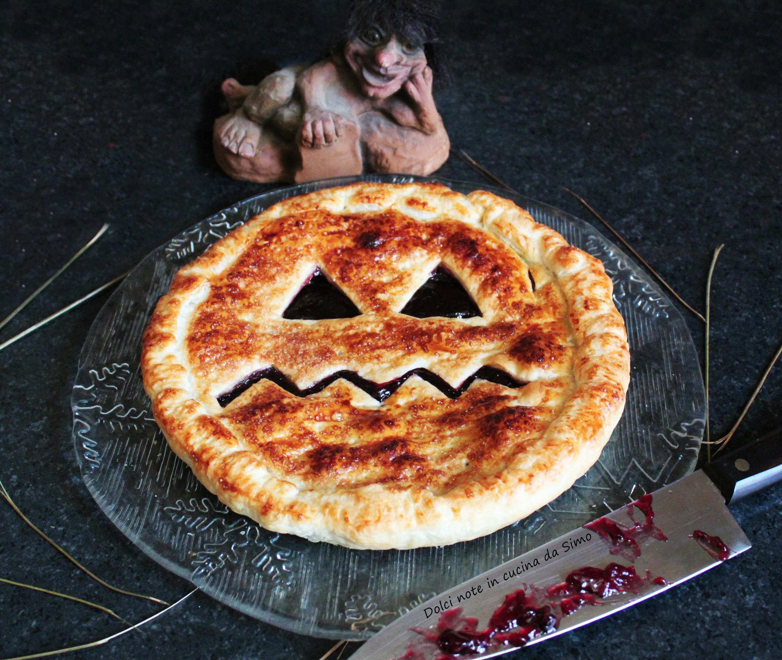 Dolce sfoglia Halloween - Dolci note in cucina da Simo