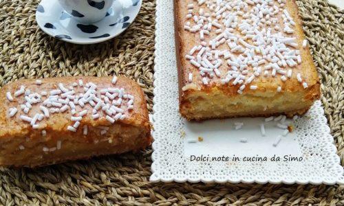 Plum-Cake al gelato fior di latte
