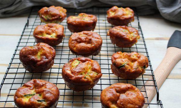 Frittatine muffin con le zucchine