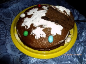 Panettone con cacao e limoncello