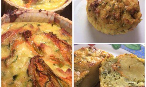 Sformato patate e zucchine