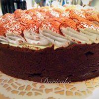 Crostata alta al cacao Tiramisù