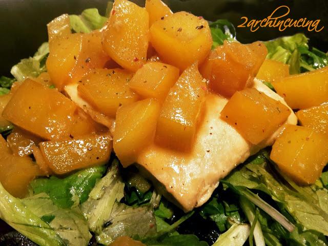 Filetto di salmone e mango