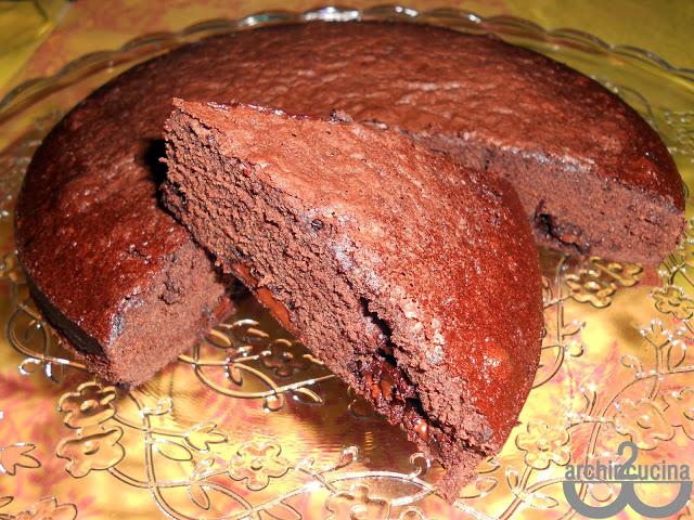 Torta al cioccolato e fior di sale