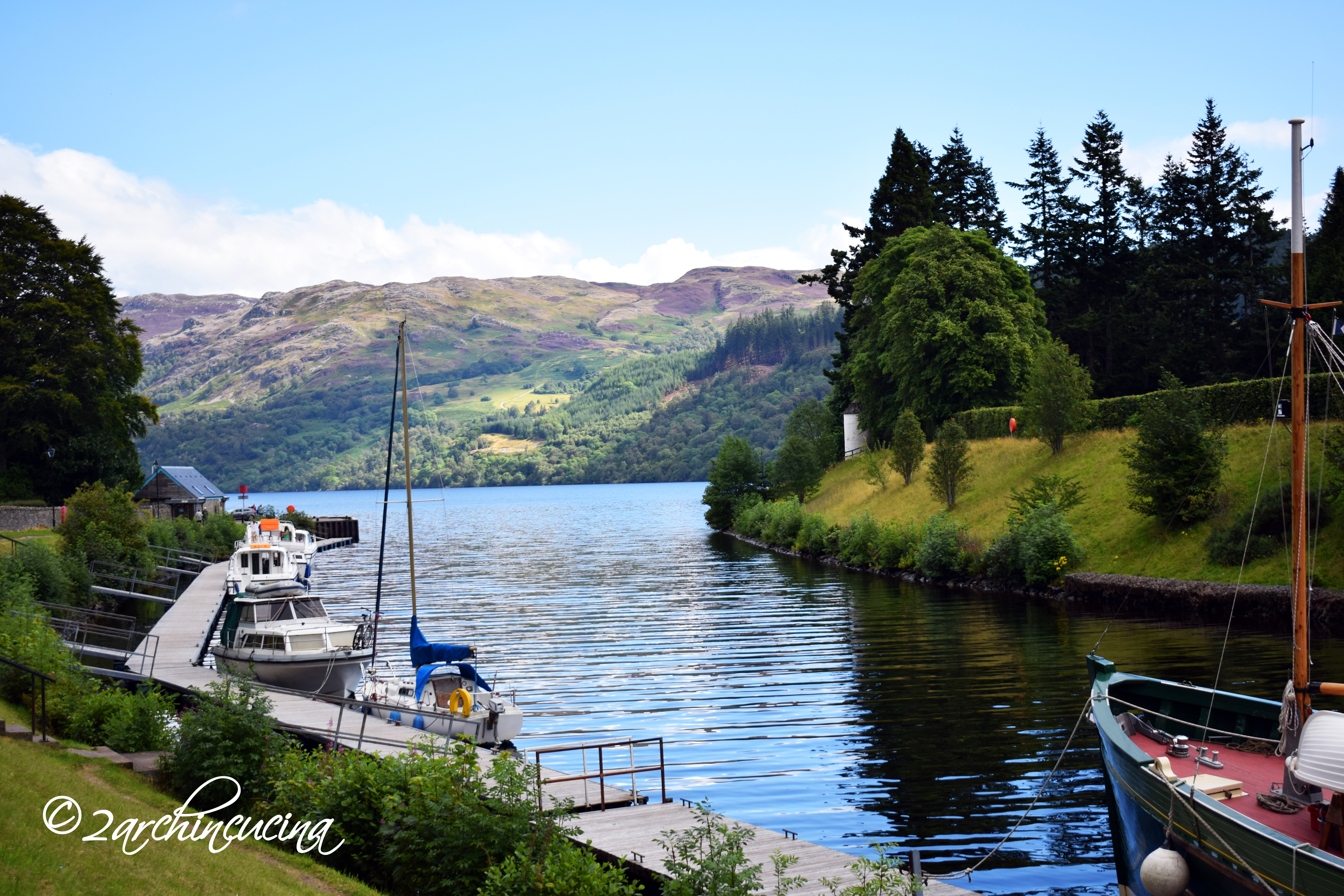 Loch Ness, Caledonial Canal - Fort Augustus