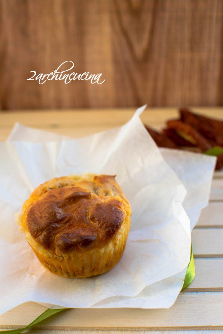 muffin salati ai pomodori secchi