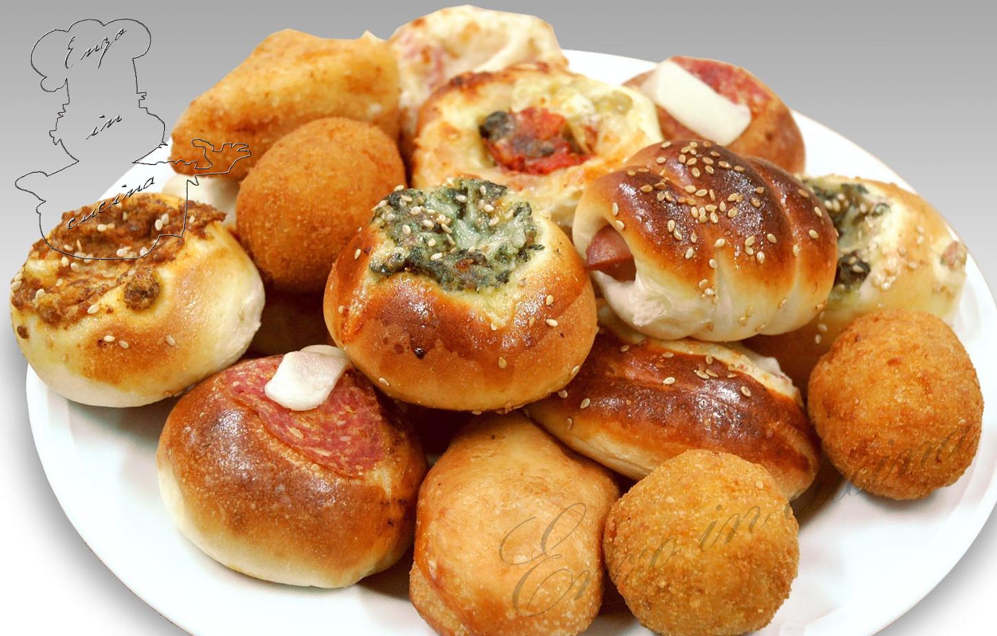 Impasto per rosticceria palermitana enzo in cucina - Impasto per tavola calda siciliana ...