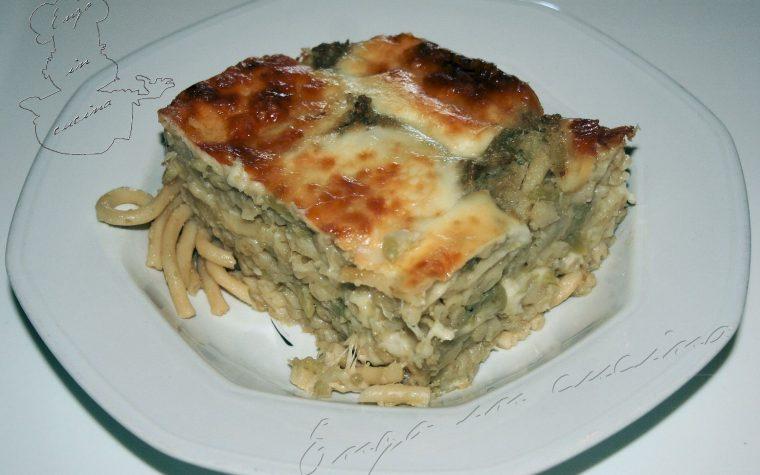 Pasta arriminata chi vrocculi o furnu – Pasta rimescolata con i broccoli al forno