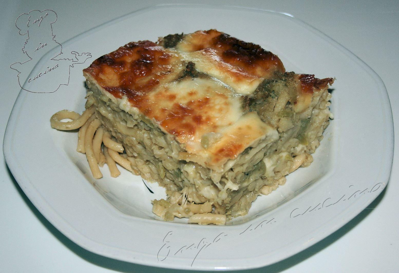 Pasta arriminata chi vrocculi o furnu pasta rimescolata for Aggiunta suocera