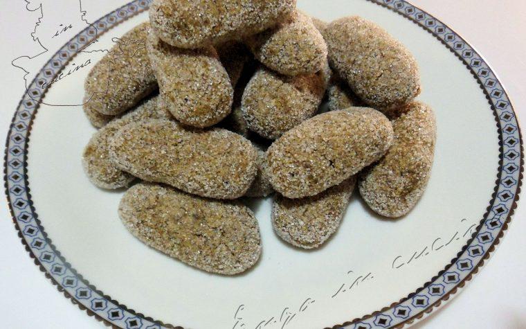 Amaretti morbidi al pistacchio