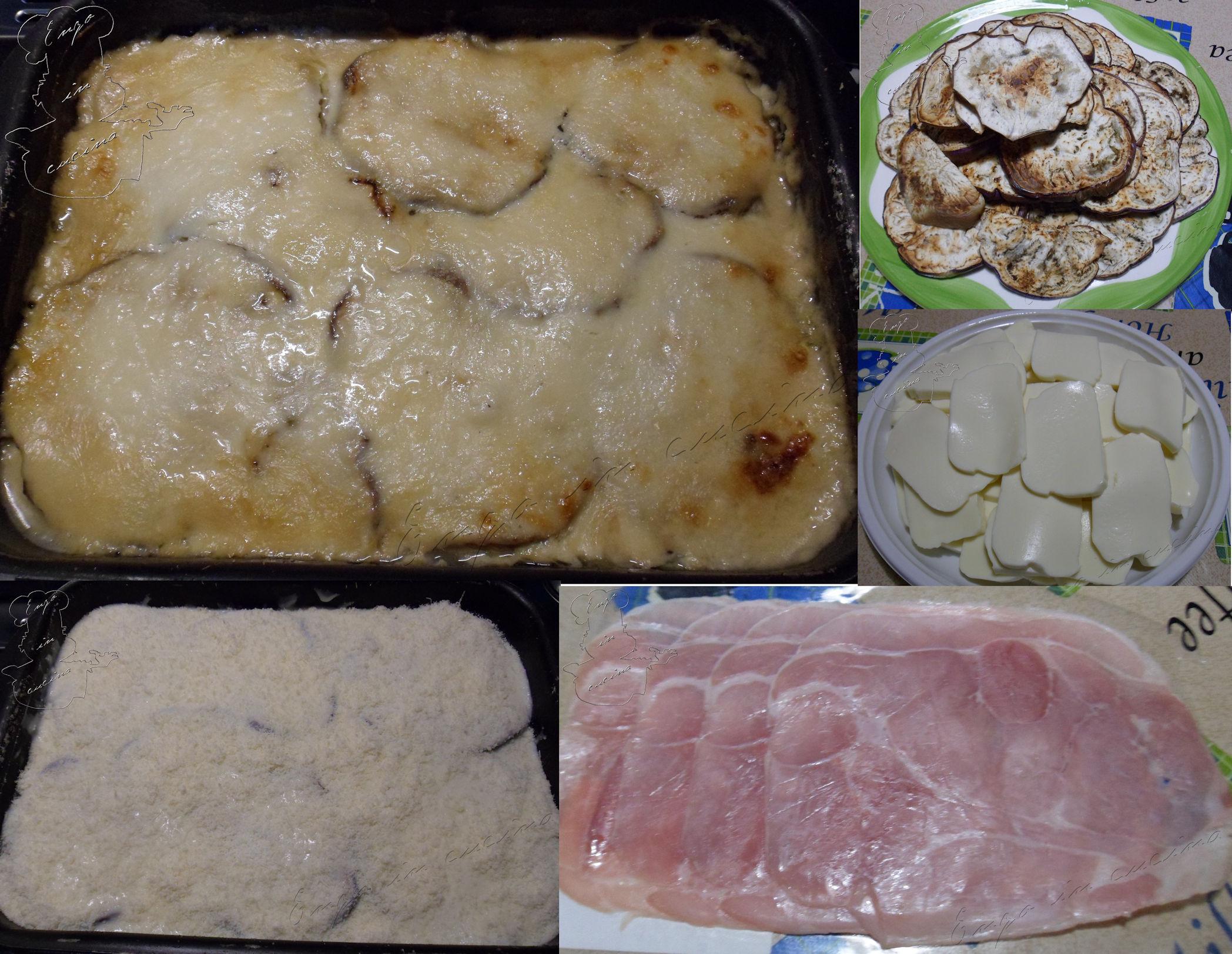 Parmigiana bianca di melanzane arrostite | Enzo in cucina