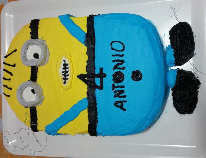 Torta Minions-w