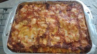 teglia lasagna di zucca e speck