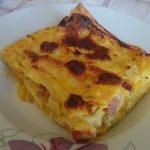 Lasagne di zucca e speck