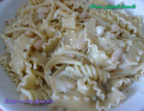 Pasta e fagioli bianca senza glutine