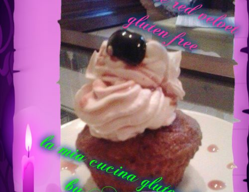 CUPCAKE RED VELVET gluten free