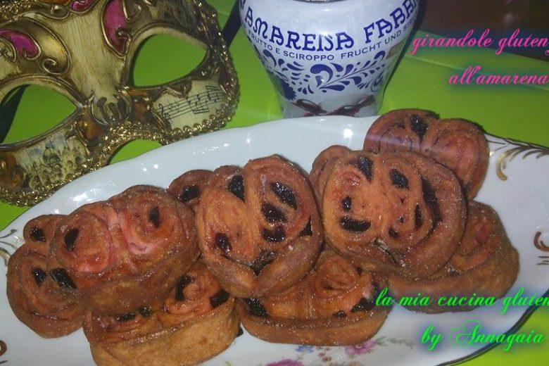 GIRANDOLE gluten free all'amarena