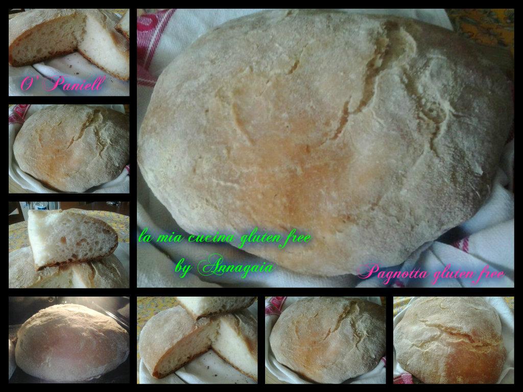 PAGNOTTA gluten free con lievito madre (O' Paniell)