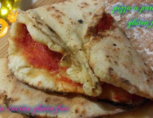 PIZZA A PORTAFOGLIO gluten free con lievito madre