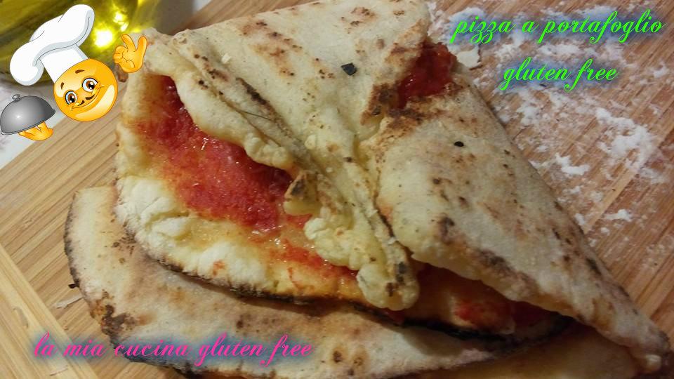 pizza a portafoglio gluten free