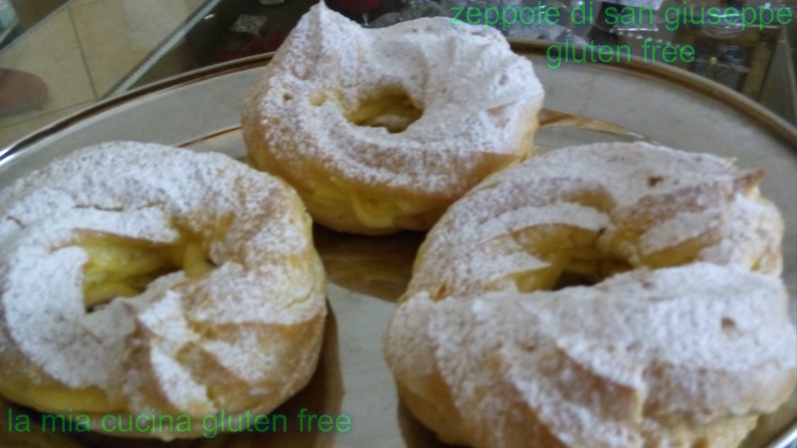 zeppole di San Giuseppe gluten free