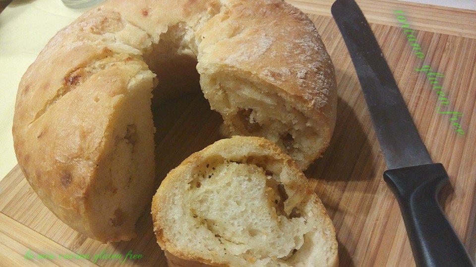 tortano gluten free strutto cicoli e pepe