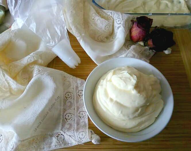 crema diplomatica crema chantilly senza glutine